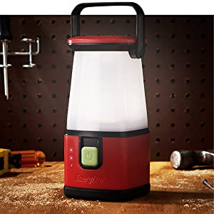 Energizer-lantaarns zorgen voor een gelijkmatige verlichting van donkere gebieden.