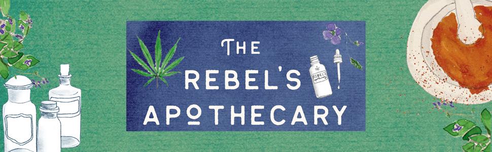 The Rebel's Apothecary, Jenny Sansouci, pain, self help, self care gifts, medical marijuana, THC,cbd