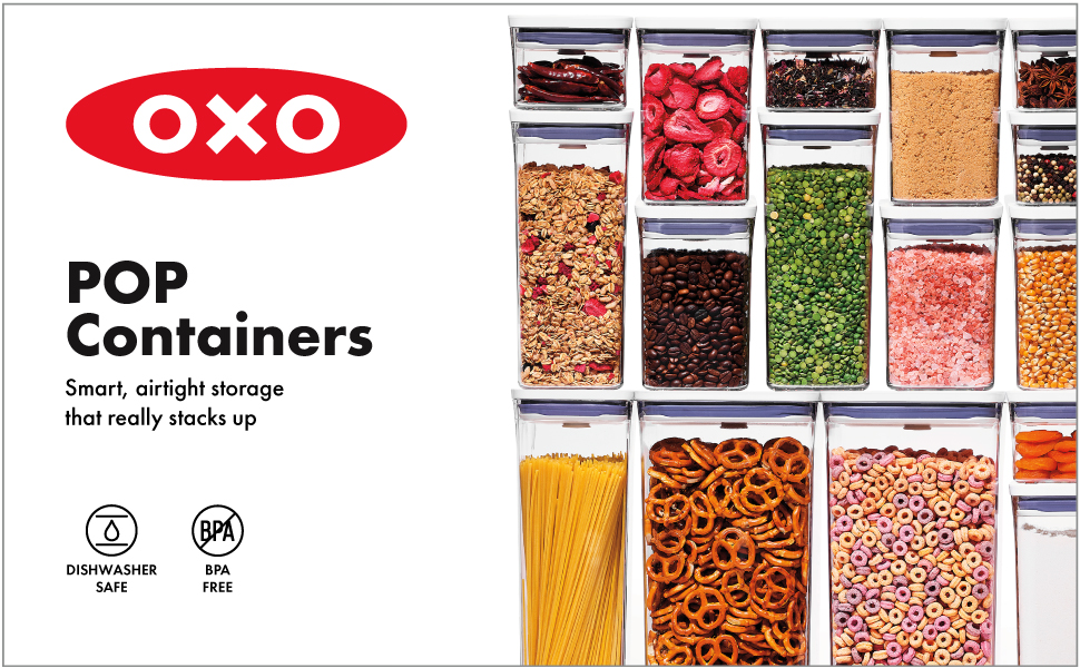 OXO Good Grips POP Container Airtight Food Storage
