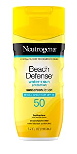 Neutrogena Beach Defense Sunscreen Face & Body Lotion with Broad Spectrum
