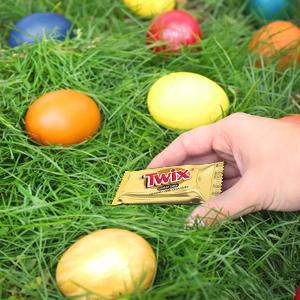 Use mini chocolate candies by MARS Chocolate for Easter egg stuffers.