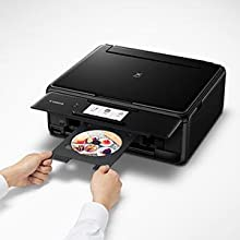 Canon TS8120 Wireless All-In-One Printer with Scanner and Copier: Mobile and Tablet Printing, with Airprint(TM) and Google Cloud Print compatible, ...