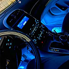 Nilight music car strip light