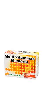 Multi vitaminas Memoria
