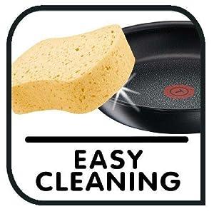 Easy to Clean, Tefal Gourmet Anodised Frypan 26cm
