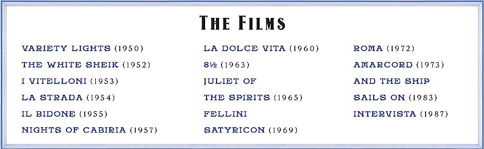 films list