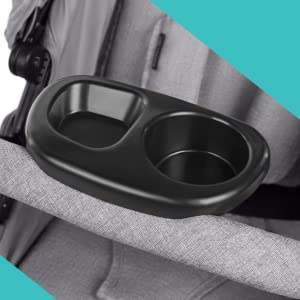 Child Snack Tray with Cup Holder