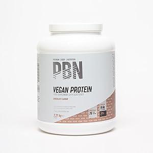 PBN - Premium Body Nutrition PBN - Bote de proteínas para veganos, 2.27 kg (sabor chocolate)
