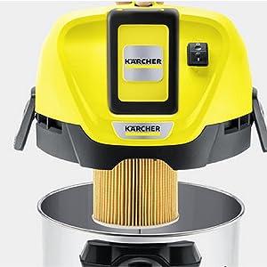 Kärcher Aspirador Multiuso Wd 3 Baterías Premium, 67 W, 17 litros ...