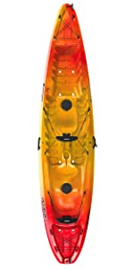 Perception Pescador Sit On Top Kayak for Recreation & Fishing