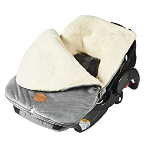 JJ Cole Urban Bundleme attached to car seat