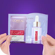 a. How To Apply L'Oréal Serum Sheet Mask – Fold - Revitalift Sheet Mask