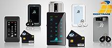 Festplatten mit Smartcard und PIN sowie RFID Token für sicheren Datenschutz und Datensicherheit