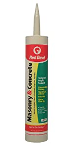 Amazon Com Red Devil 0645 Pre Mixed Concrete Patch Squeeze Tube 5 5
