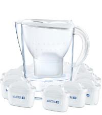 BRITA Wasserfilter Marella weiß inkl. 12 MAXTRA+