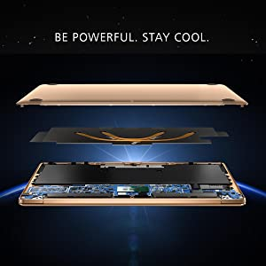 Be Powerful Stay Cool Huawei Matebook X exploded