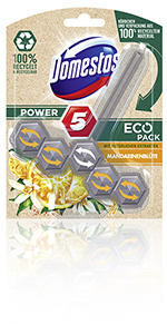 Domestos Power 5 EcoPack WC Stone Mandarijnbloesem