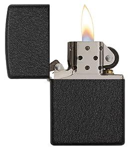 black crackle, black crackle lighter, zippo black crackle lighter, black crackle characteristics