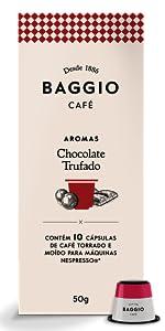 Chocolate Trufado Cápsulas Baggio Café Nespresso