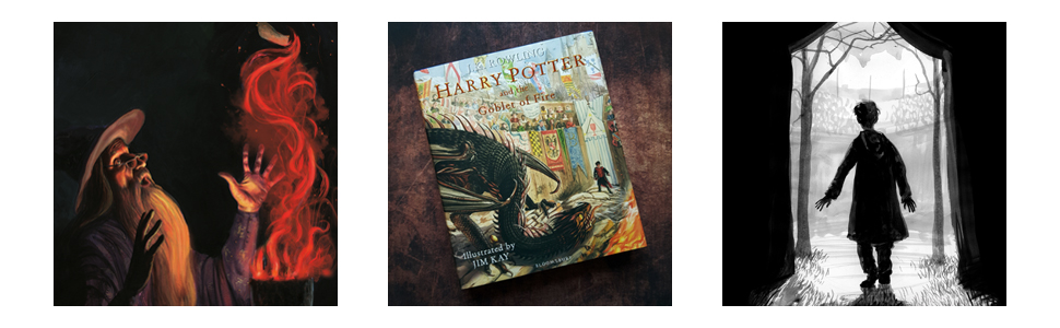 Harry Potter Illustrated, Harry Potter and the Goblet of Fire, Jim Kay, JK Rowling, illustrated book