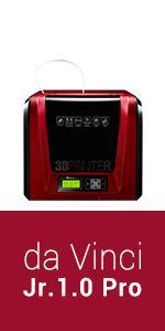 XYZ Printing Impresora 3D da Vinci Jr. 1.0 Pro, filamento abierto