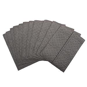 sorbent pads, spill pads, spill rags