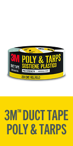 3M Duct Tape Poly & Tarp