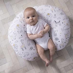 boppy pillow, boppy nursing, boppy tummy time, notebook, black and white theme, happy baby