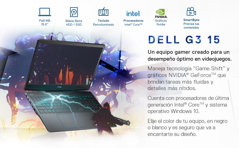 Dell G3 negra