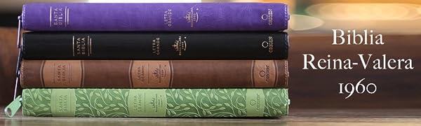 Photo of four spanish language bibles