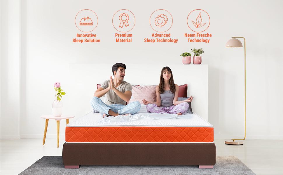 sleepwell, medium mattress, hard mattress, firm mattress, sleepx