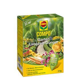 Compo Garten Langzeit-dünger, Hochwertiger, Universell ... Dunger Fur Den Garten Pflanzen Kuche
