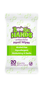 Antibacterial wipes, boogie wipes, boogie hands, wipes, baby wipes, adult wipes