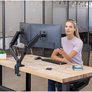 monitor arm, monitor arms, dual monitor arm, dual monitor arms