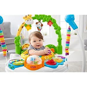 5830d7c59634 Amazon.com   Fisher-Price Go Wild Jumperoo   Baby