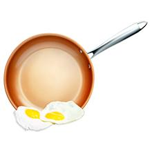 eggs sliding off
