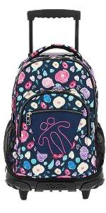 ... mochilas de ruedas, mochilas con carro, mochilas escolares ...