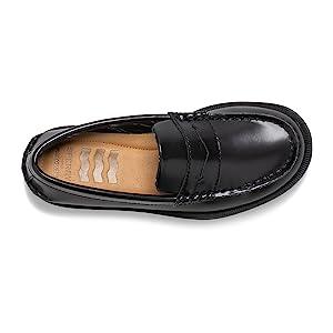 Inside Shoe