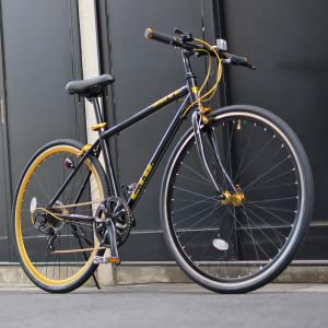 LIG(リグ) クロスバイク 700C シマノ製6段変速 サムシフター 前輪クイックリリース 前後キャリパーブレーキ LIG MOVE