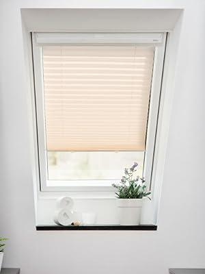 Lichtblick Dachfenster Plissee Haftfix 59 3 X 100 Cm B X L In