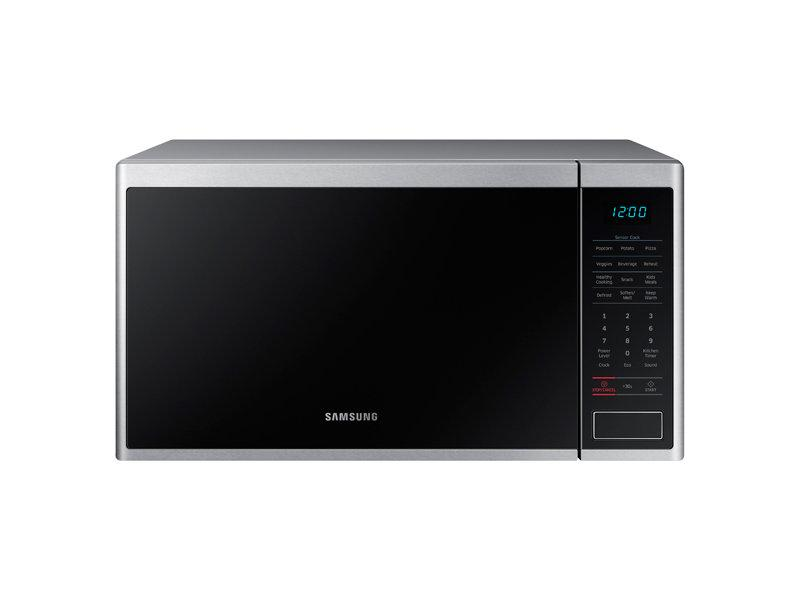 Samsung Ms14k6000as 1 4 Cu Ft Countertop Microwave Oven With Sensor And Ceramic