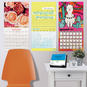 2021 wall calendars 2020 planners organizers home decor gift office supplies living room bedroom
