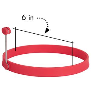 6 inches diameter