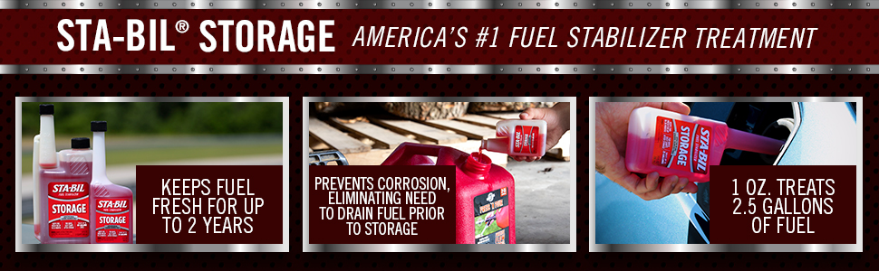 sta bil storage, fuel stabilizer, fuel treatment, fuel additive, fuel system cleaner, startron