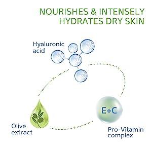 Cetaphil, Hyaluronic Acid, Olive Extract, Face Moisturizer