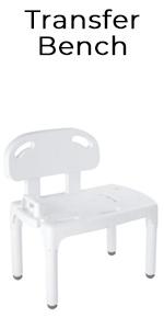 Amazon.com: Carex - Asiento de baño y silla de ducha con ...