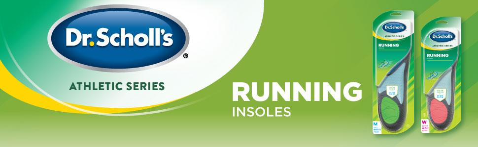 Athletic Series Running Insoles for Men