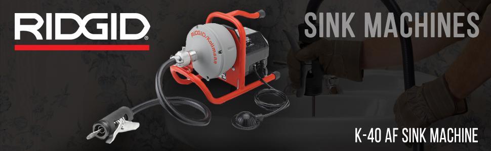 amazon com ridgid 71722 k 40af sink machine with 5 16 inch inner rh amazon com