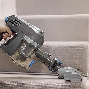 Details about Vax Cordless Slim Vac Fur & Fluff Vacuum Handheld Lightweight 130W TBTTV1F1