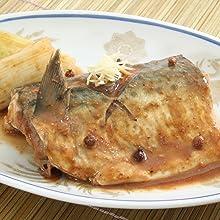 鯖の豆豉味噌煮込み